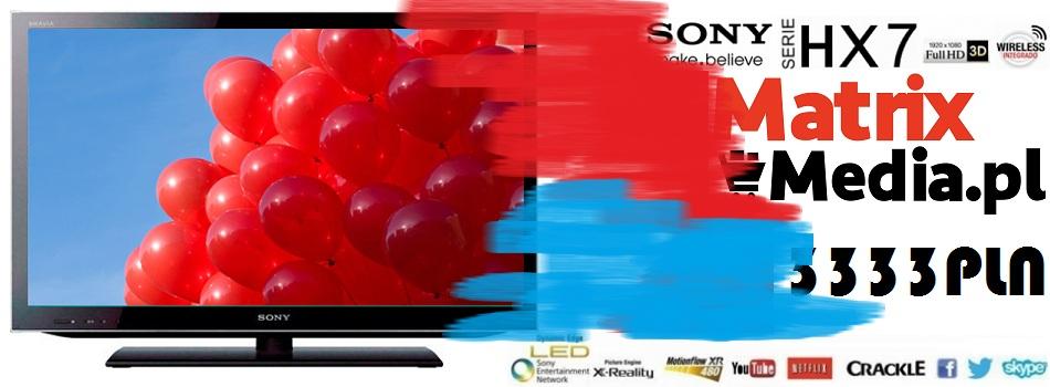 telewizor sony SONY KDL-40HX755