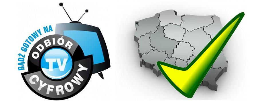Telewizor do odbioru telewizji cyfrowej