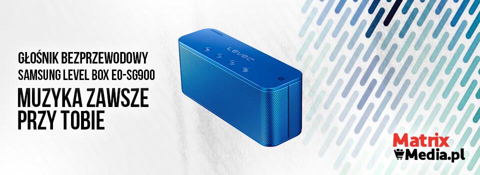 najnowszy Głośnik SAMSUNG Level Box EO-SG900