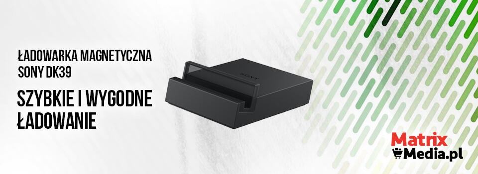 Ładowarka magnetyczna SONY DK39 Czarna do Z2 specyfikacja produktu
