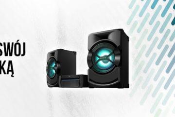 SONY SHAKE-X3D - poznaj zalety wieży od SONY