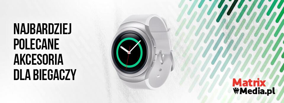 akcesoria dla biegaczy - opaska i smartwatch