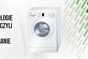 Nowe technologie w pralkach