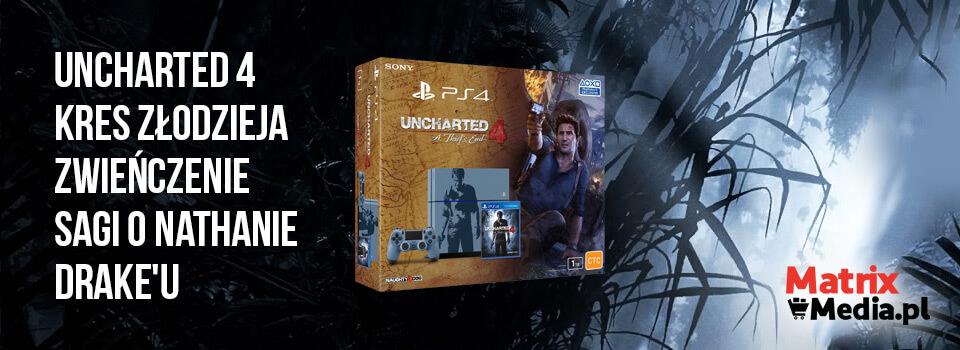 uncharted 4 kres złodzieja przedsprzedaż