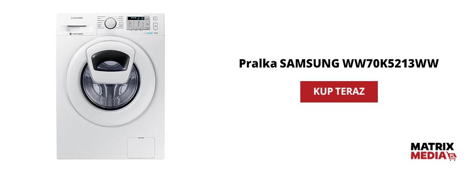 pralka Samsung WW70K5213WW