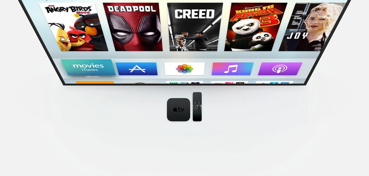 Apple TV - duży wybór filmów