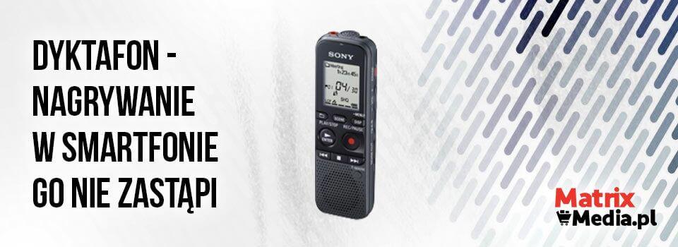 Dyktafon czy smartfon