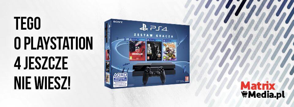 PlayStation 4 ciekawostki