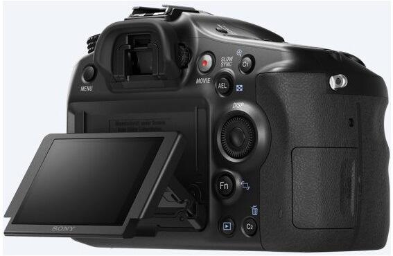 Lustrzanka cyfrowa Sony A68 - ekran LCD
