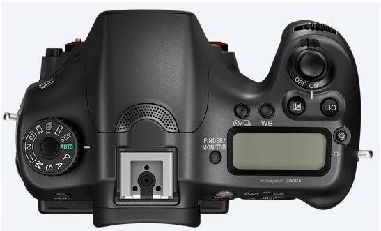 Lustrzanka cyfrowa Sony A68 - obudowa