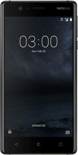 Smartfon Nokia 3 Dual SIM wyświetlacz
