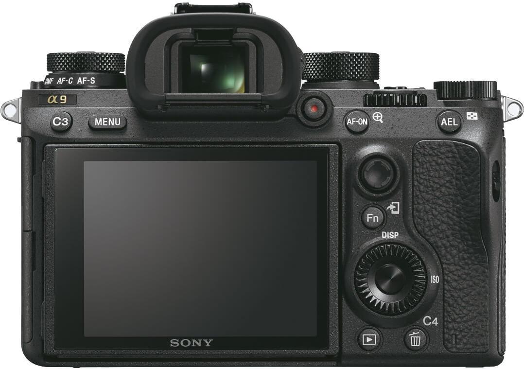 Aparat Sony Alpha 9 ekran LCD