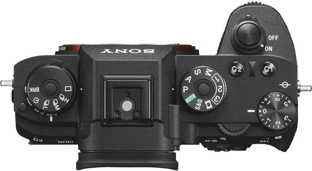 Aparat Sony Alpha 9 przyciski