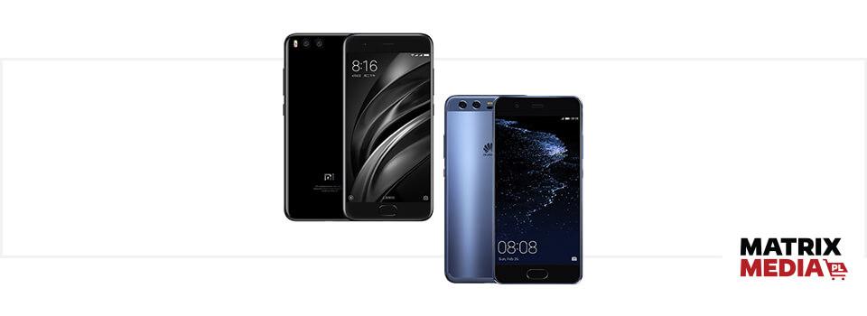Xiaomi Mi6 vs. Huawei P10 porównanie