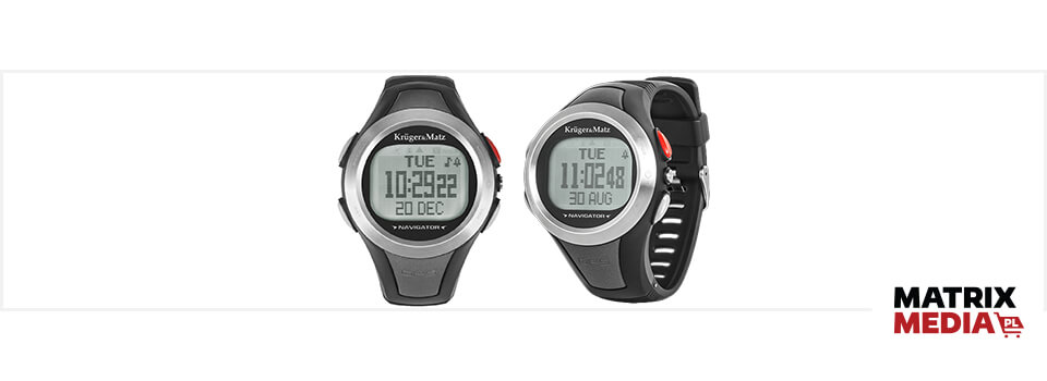 Zegarek sportowy lub smartwatch do biegania