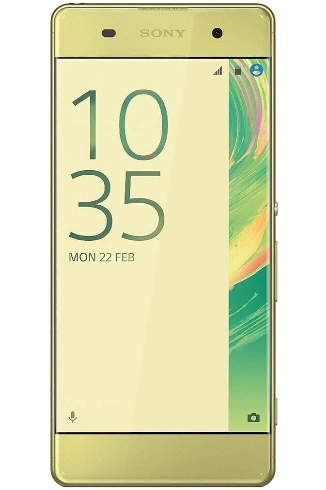 Smartfon Sony Xperia XA wyświetlacz