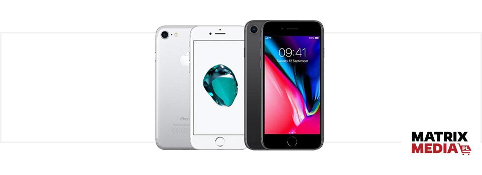 Porównanie iPhone 7 vs. iPhone 8