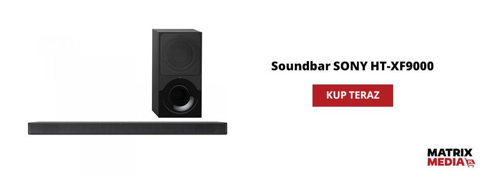 ile kosztuje soundbar sony ht-xf9000?