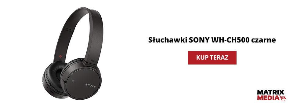 Ile kosztują słuchawki Sony WH_ch500?
