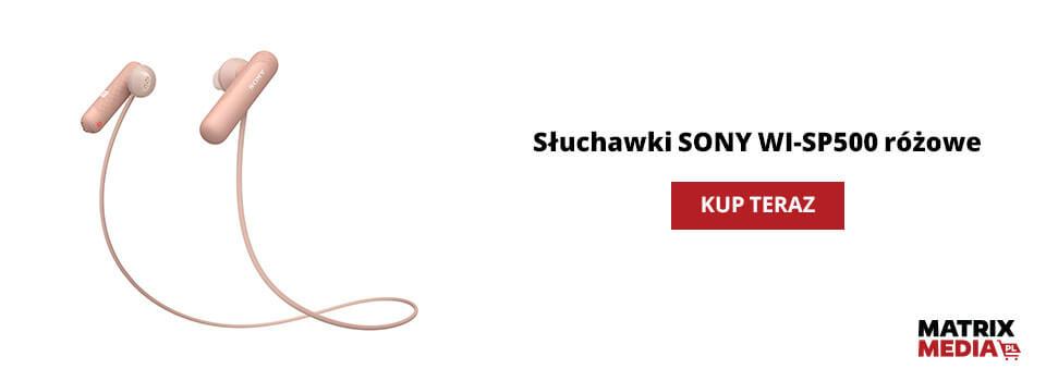 ile kosztują słuchawki SONY WI-SP500?