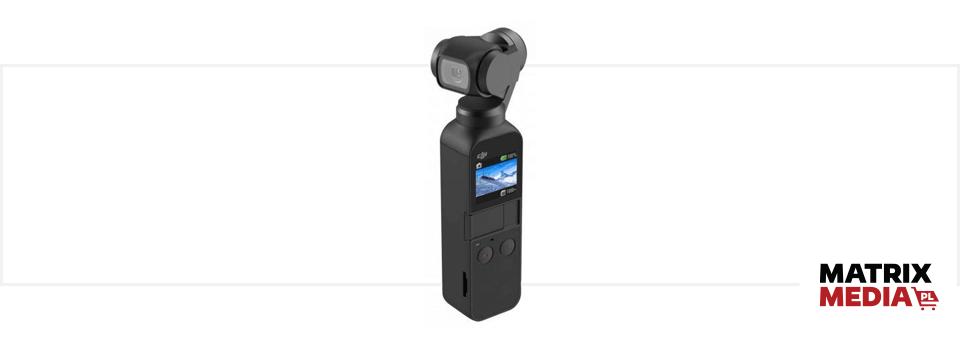 Miniaturowa kamera sportowa DJI Osmo Pocket z gimbalem